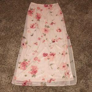 Express long skirt